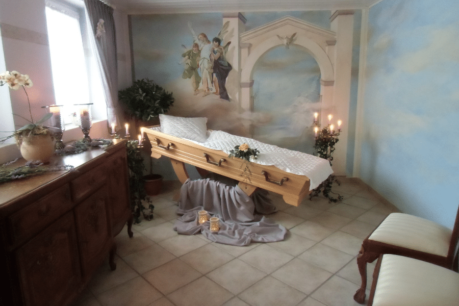 Merz und Wegener Bestattungshaus - Abschiedsraum